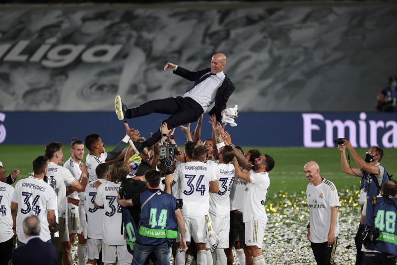 Real Madrid, campéon en España