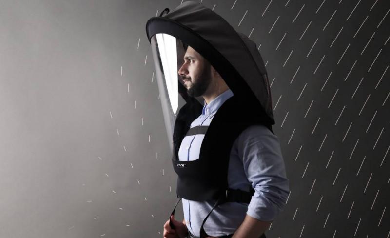 Pondrán a la venta casco protector contra Covid-19