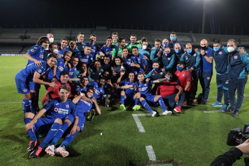 Cruz Azul es campeón de la Copa por México
