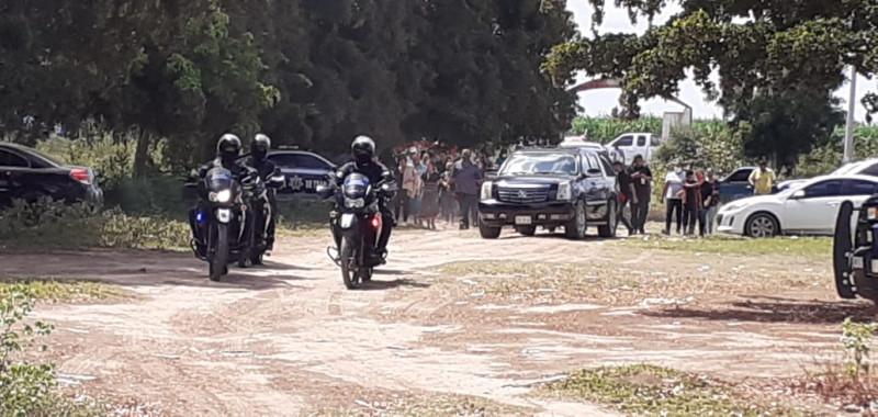 Rinden homenaje a Policía Municipal que fue asesinado el fin de semana