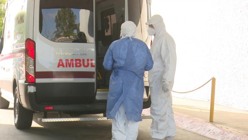 Hospitales saturados en Los Mochis