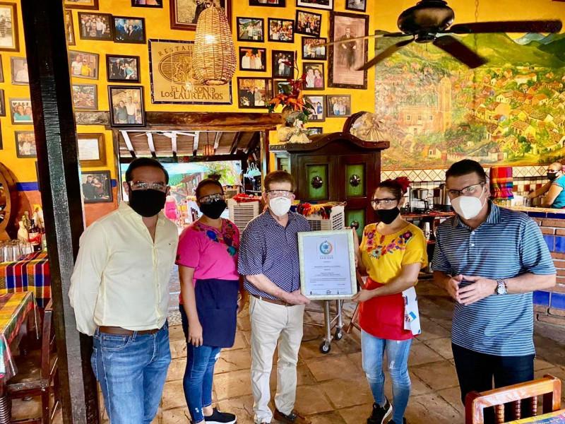 Restaurantes de El Quelite tienen Distintivo de Sanidad