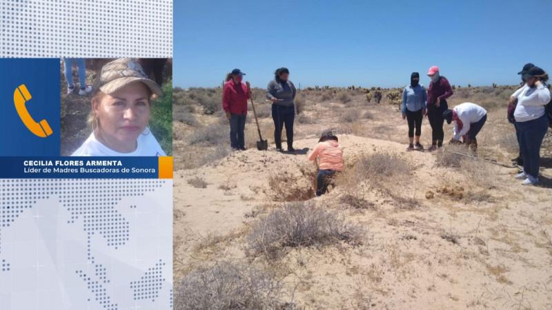 Este jueves estarán en Cajeme, Madres Buscadoras de Sonora