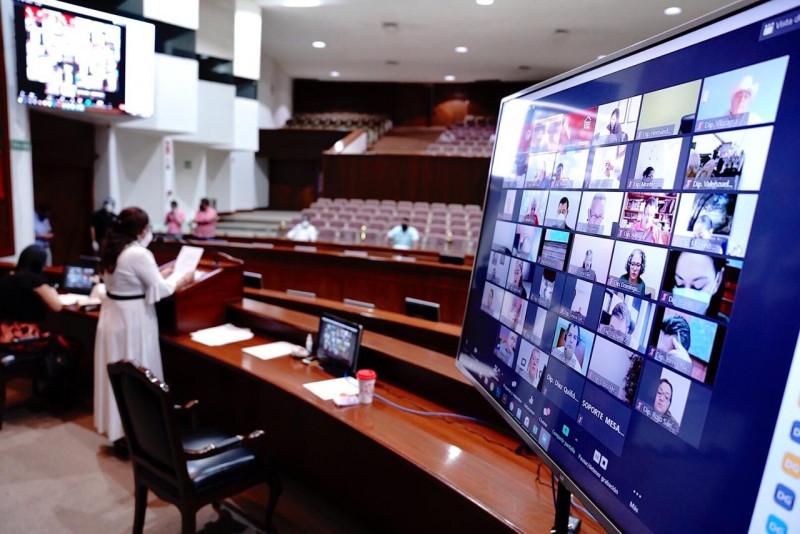 Aprueba Congreso lineamientos para sesiones y reuniones virtuales