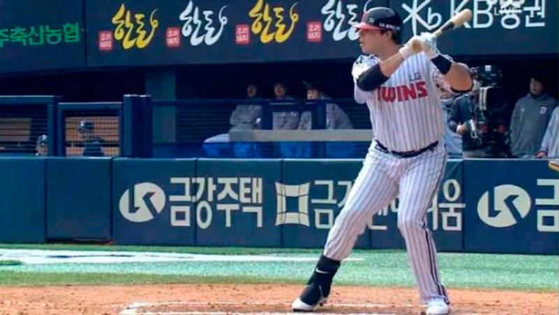 Roberto Ramos llega a 18 cuadrangulares en Corea