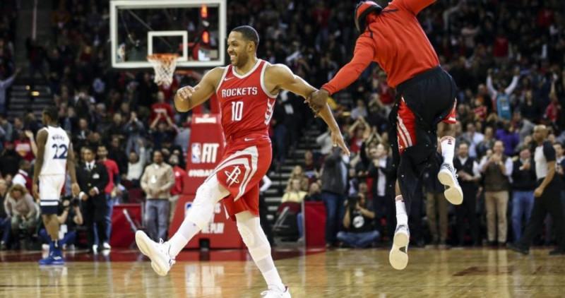 Eric Gordon fuera de los Rockets por lesión