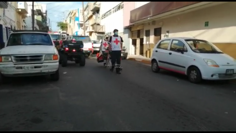 Atropellan a bombero mientras atendían reporte