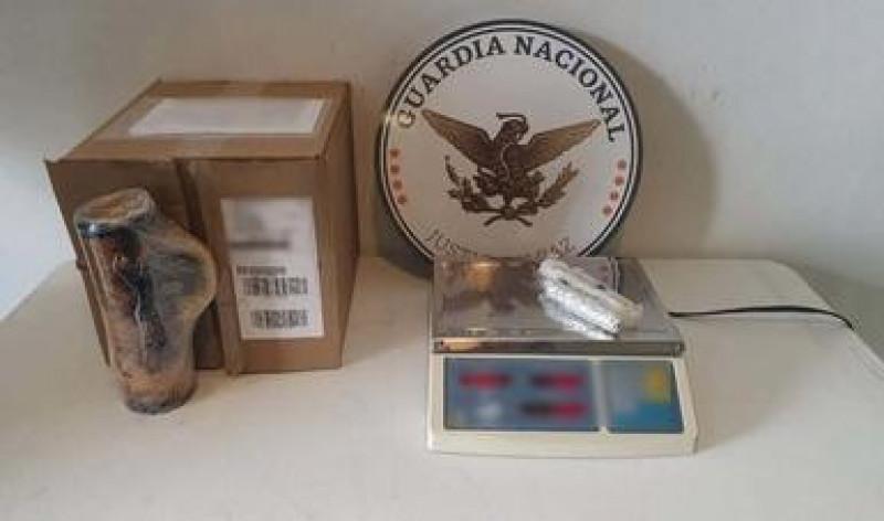 Detectan droga en artesanías procedentes de Mazatlán