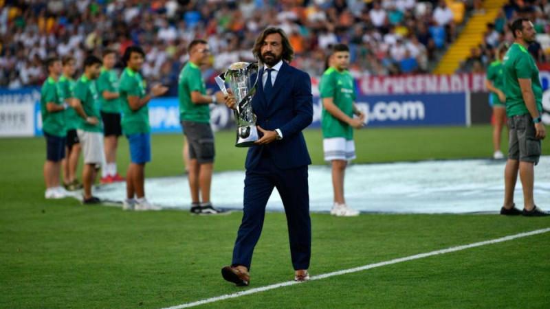 Andrea Pirlo es el entrenador de la Juve sub-23