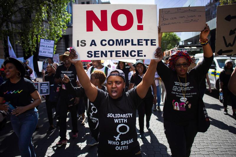 Sudáfrica registra una escalofriante media de 115 violaciones denunciadas al día