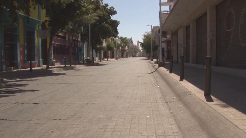 Lamentable que no exista voluntad política para abrir el comercio del centro de Culiacán