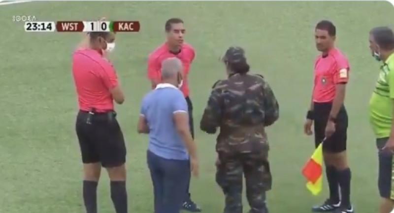 Ejército suspende partido de fútbol al minuto 23 por sospecha de Covid-19