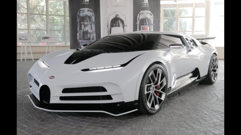 Cristiano compra Bugatti Centodieci de 8.5 mde