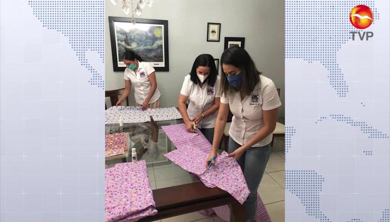 En Mazatlán, el PAS elabora cubrebocas para donarlos a la ciudadanía