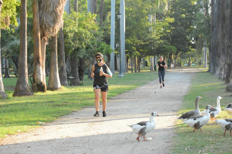 Reabren el parque Sinaloa, solo a deportistas