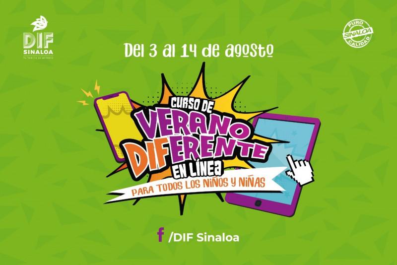 Inician cursos de verano del DIF Sinaloa, son en línea