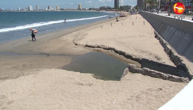 Desagüe genera mala imagen en el Malecón