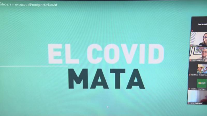 """Impulsa CODESIN, campaña """"sin pretextos, protégete del COVID"""""""