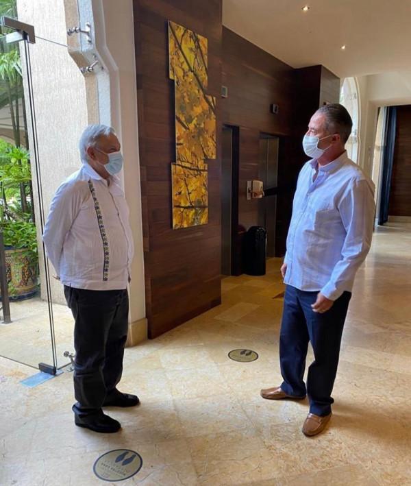 Llega a  Culiacán el Presidente AMLO