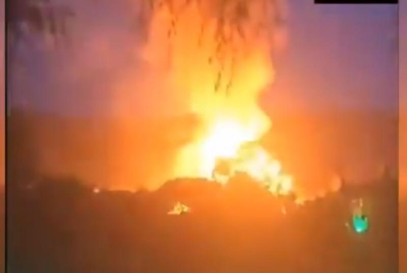 Video: explota una red de gas en Corea del Norte