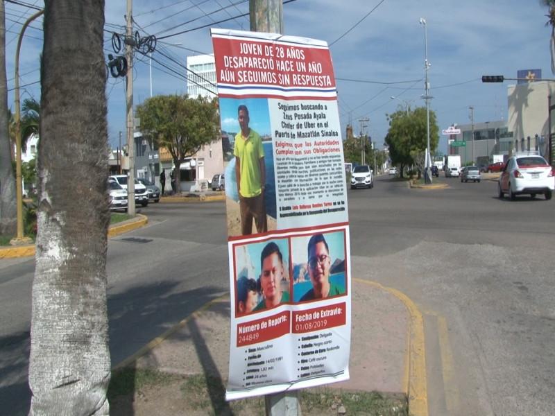 Buscan respuestas en la búsqueda de joven desaparecido