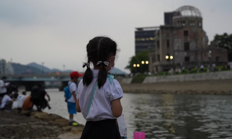 Así conmemoró Hiroshima el 75 aniversario de sufrir la bomba atómica