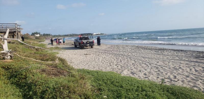 Hombre muere ahogado en playas de Celestino Gasca