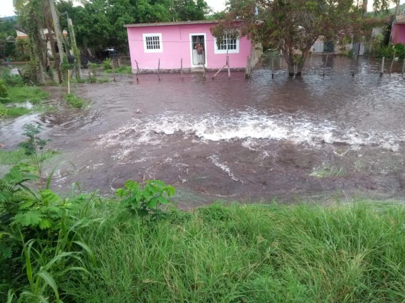 Bajará un 45% el suministro de agua, se rompe tubería en El Zapote