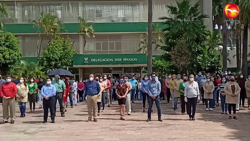 IMSS Sinaloa se suma a homenajes de trabajadores de la salud