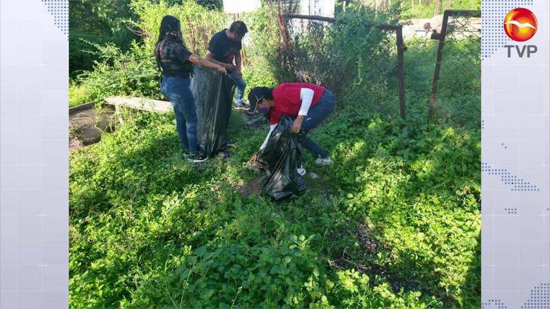 Trasladan jornada de limpieza a la zona rural