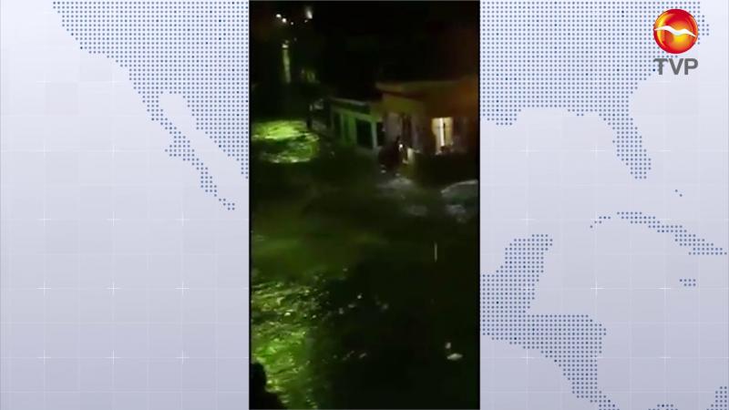 Lluvias dejan daños en Rosario