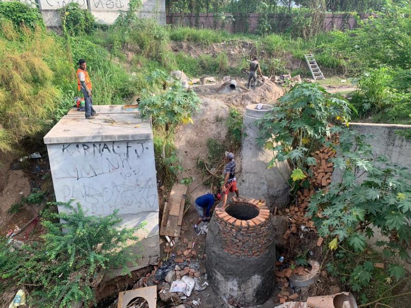 Intervienen en vertimiento de aguas negras al Jabalines
