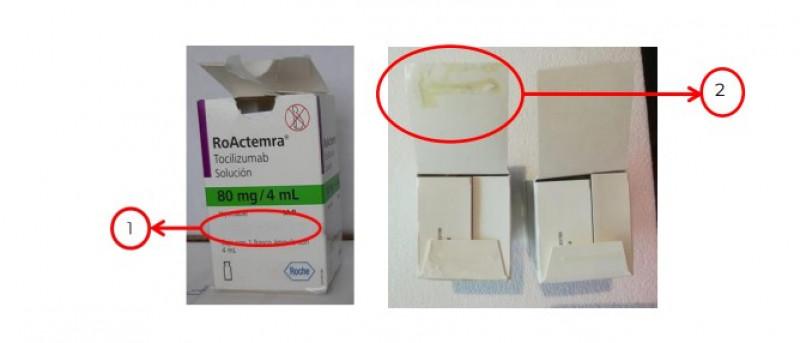 Falsifican medicamento Roactemra (Tocilizumab)