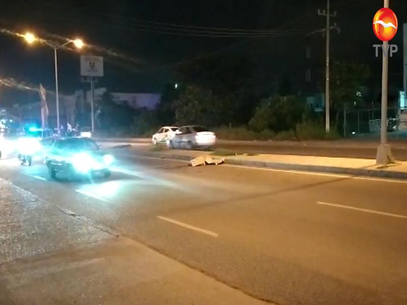 Muere atropellado sobre la carretera internacional en Mazatlán