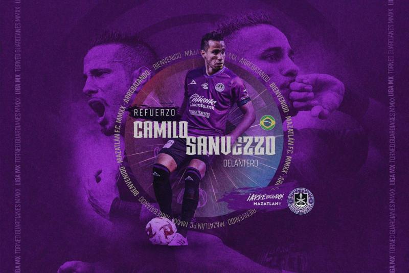 Camilo Sanvezzo refuerzo de Mazatlán FC