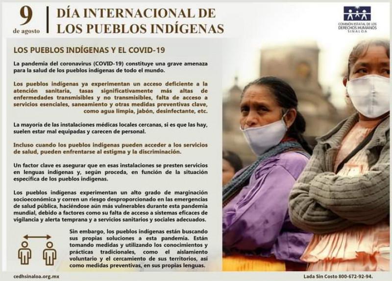 Es Covid 19, la doble amenaza para pueblos indígenas