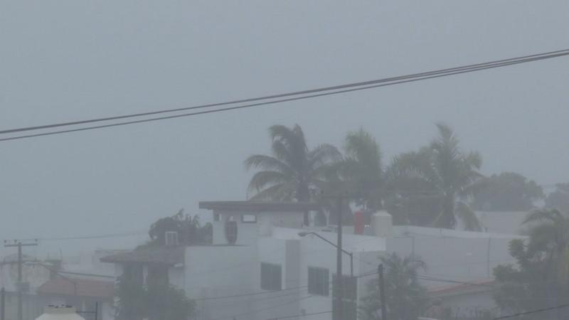 Solo lluvias ligeras dejará Elida en Sinaloa, asegura el Servicio Meteorológico