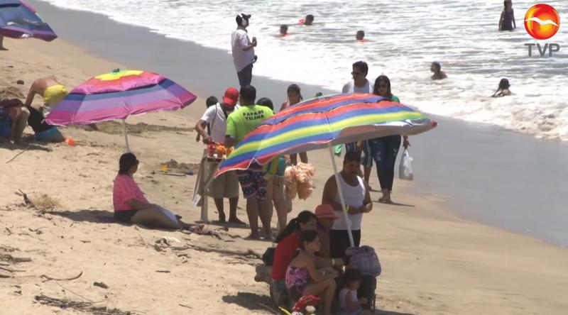 Pese a gran afluencia, coordinadora asegura disminución en visitantes en la franja costera