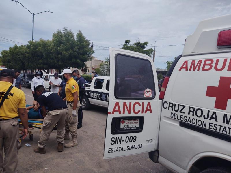 Una persona lesionada tras choque en Escuinapa