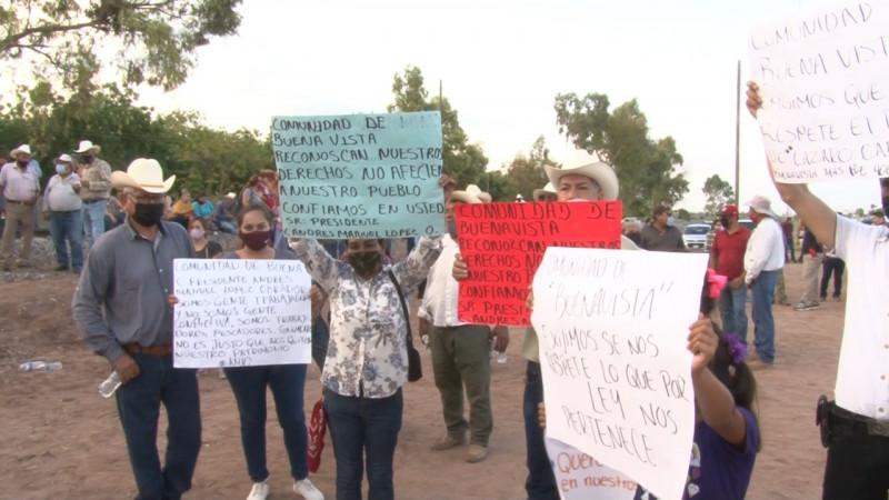 Comuneros de Buenavista denuncian intromisión de Yaquis en unidades municipales
