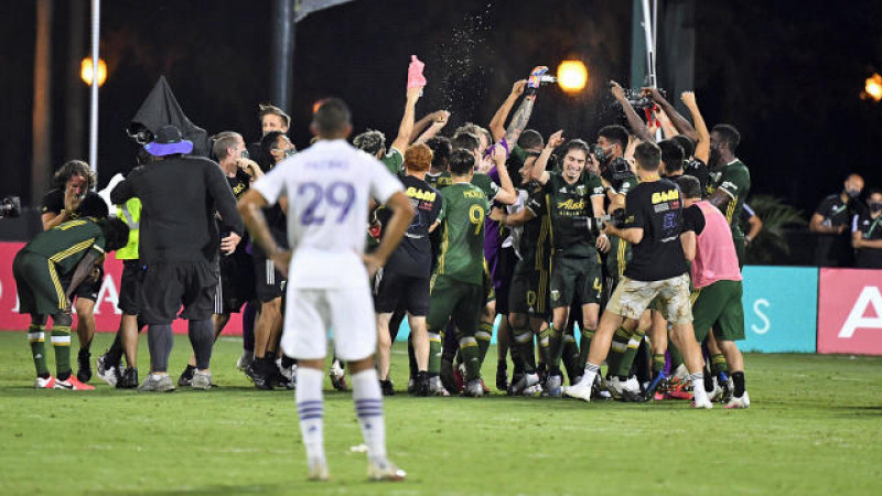 Portland Timbers quedó Campeón de MLS is Back