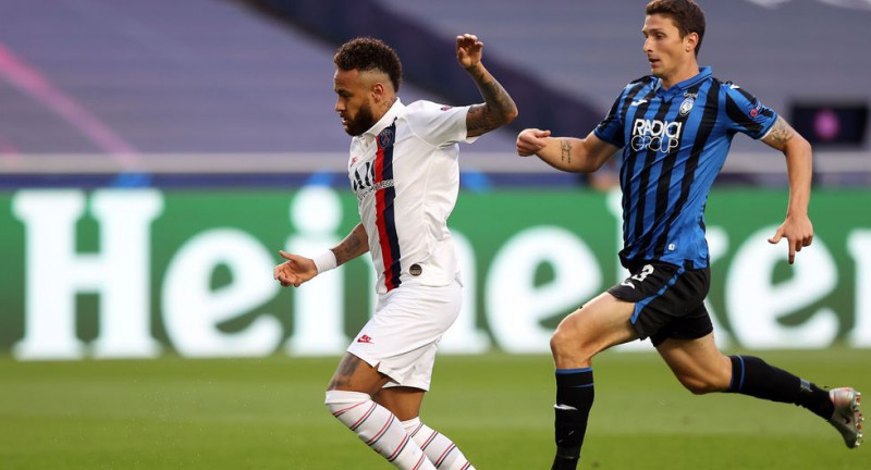 Con un final dramático, PSG acabó con el sueño del Atalanta en Champions