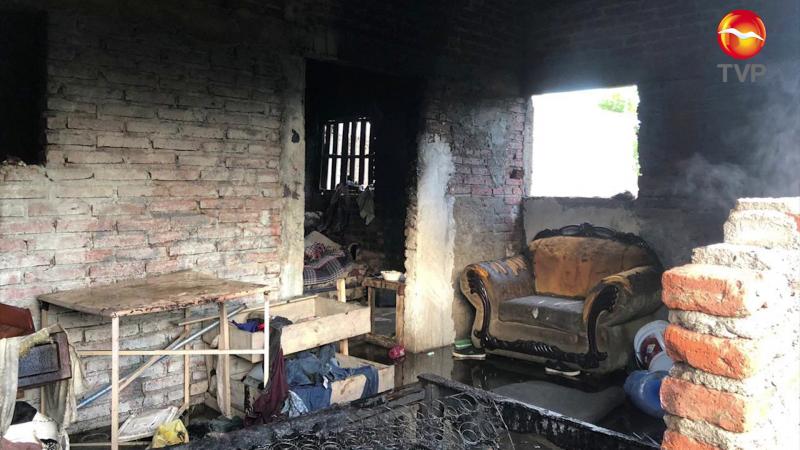 Moviliza a bomberos incendio en invasión Mundualista