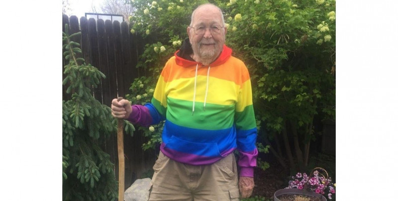 La impresionante y emotiva historia de un hombre que tardó 90 años en confesar su homosexualidad