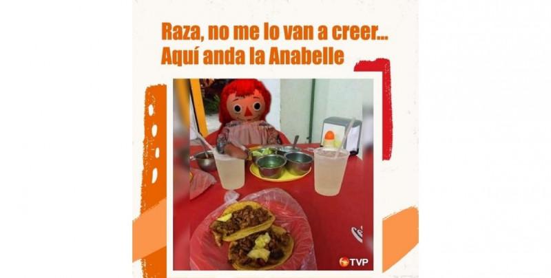 "Antes de irse, ""Anabelle"" nos dejó muchos memes"
