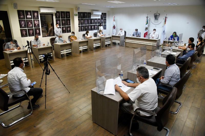 Aprueba Cabildo notificar a PASA suspensión de actividades por culminación de contrato.