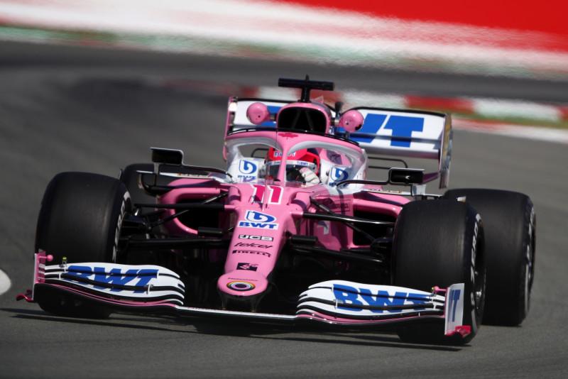 Sergio Pérez es séptimo en la clasificación
