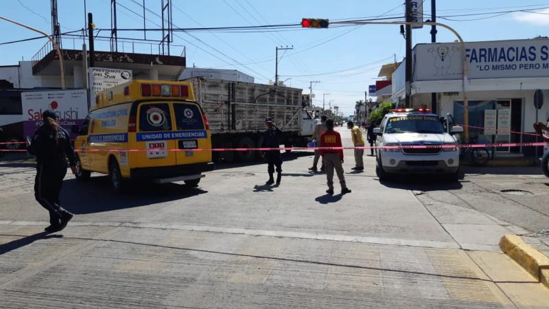 Muere adulto mayor al ser atropellado en Escuinapa