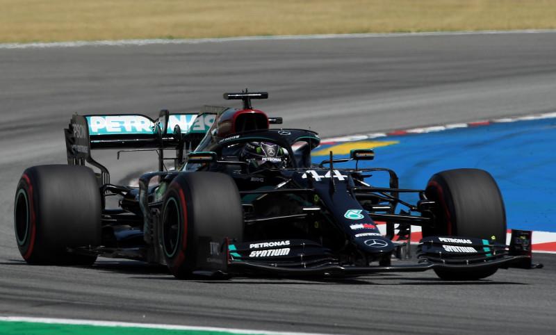 Hamilton es campeón del GP de España