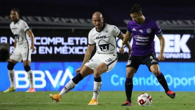 Mazatlán F.C. y Pumas empatan a 0 goles
